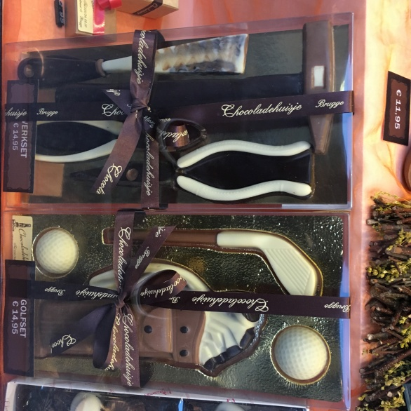 Golfer's chocolates