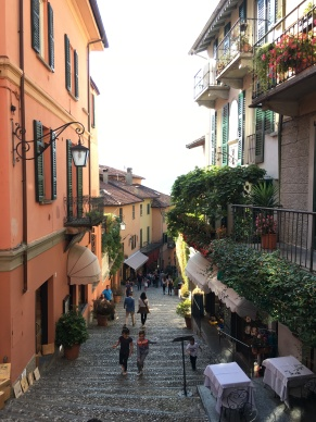 Narrow Streets in Bellagio